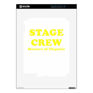 Stage Crew Masters of Disguise Skins For The iPad 2