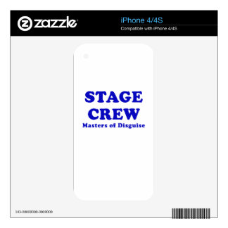 Stage Crew Masters of Disguise Skins For iPhone 4S