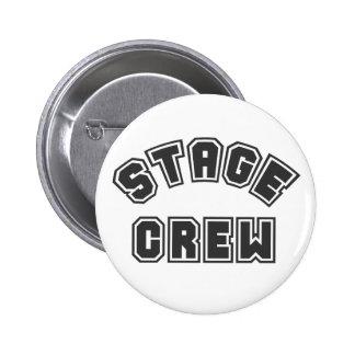 Stage Crew Pinback Button