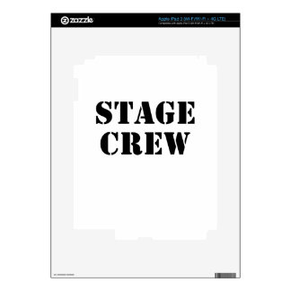 Stage Crew Skin For iPad 3