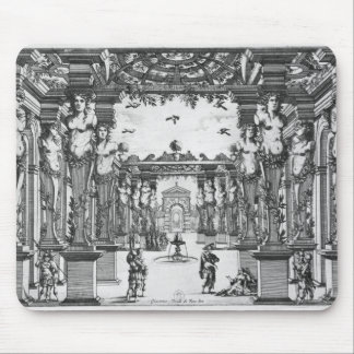 Stage design by Giacomo Torelli  for 'Mirame' Mouse Pad