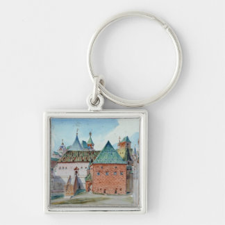Stage design for Modest Mussorgsky's opera Keychain