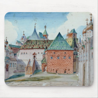 Stage design for Modest Mussorgsky's opera Mouse Pad