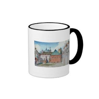 Stage design for Modest Mussorgsky's opera Mug