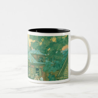 Stage design for Ostrovsky's play Two-Tone Coffee Mug