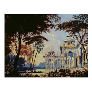 Stage Design for 'Ruslan and Lyudmila' by Postcard