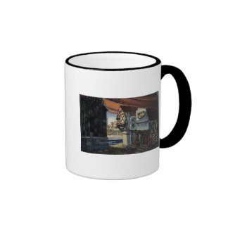 Stage design for the opera 'The Maid of Orleans' Mugs