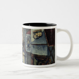 Stage design for the opera 'The Maid of Orleans' Two-Tone Coffee Mug