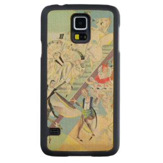 Stage design for the operetta carved maple galaxy s5 slim case