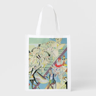 Stage design for the operetta market totes
