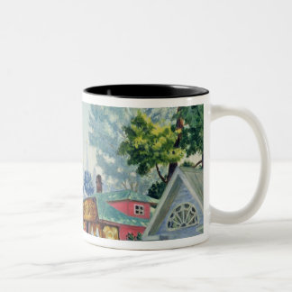Stage design for the Ostrovsky's play Two-Tone Coffee Mug