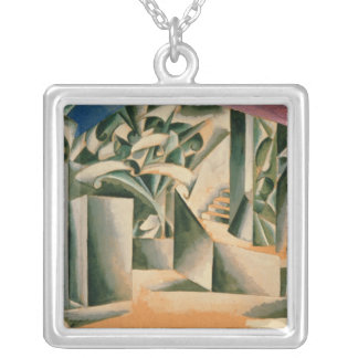 Stage design for William Shakespeare's play Square Pendant Necklace