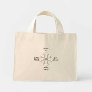 Stage Directions Light Colored Bags