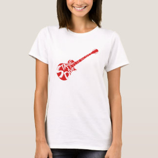 Stage Dive - Kylie Scott - Red Guitar T-Shirt