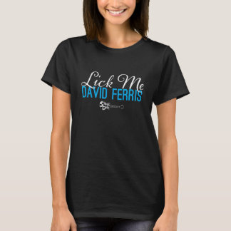 Stage Dive - Lick Me blue on black T-Shirt