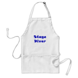 Stage Diver Adult Apron