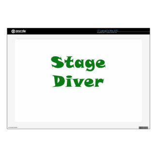 "Stage Diver Decal For 17"" Laptop"