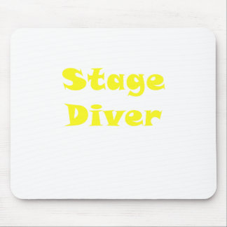 Stage Diver Mouse Pad