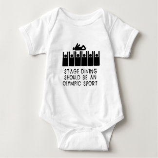 Stage Diving Baby Bodysuit