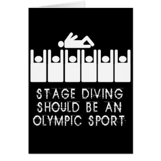 Stage Diving Card