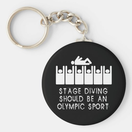 Stage Diving Keychain