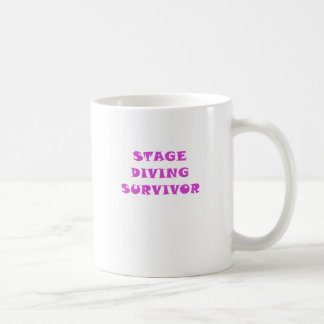 Stage Diving Survivor Coffee Mug