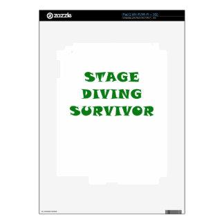 Stage Diving Survivor Skin For iPad 2