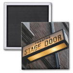 Stage Door! 2 Inch Square Magnet
