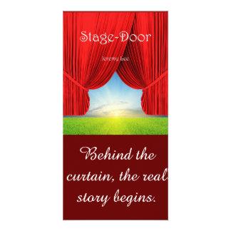 Stage-Door Picture Photo Card