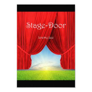 Stage-Door Postcard