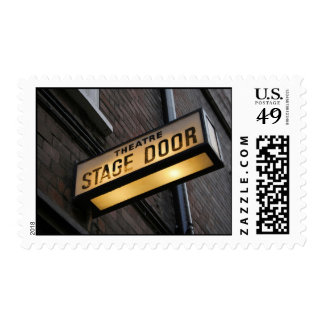 Stage Door! Stamp