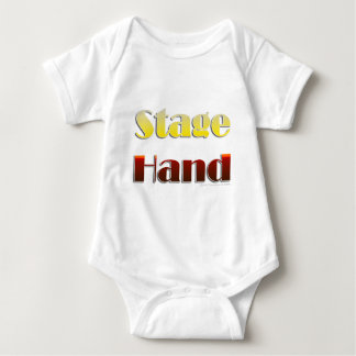 Stage Hand (Text Only) Baby Bodysuit