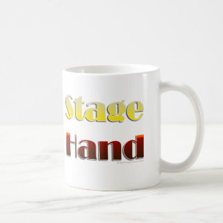 Stage Hand (Text Only) Coffee Mug
