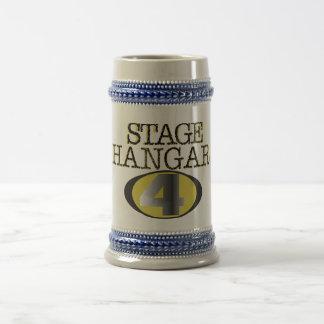 Stage Hangar 4 Beer Stein Mug