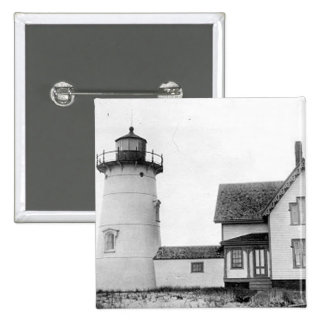Stage Harbor Lighthouse Button
