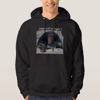 Stage Left or Right ?_T-Shirt_by Elenne Boothe Hoodie