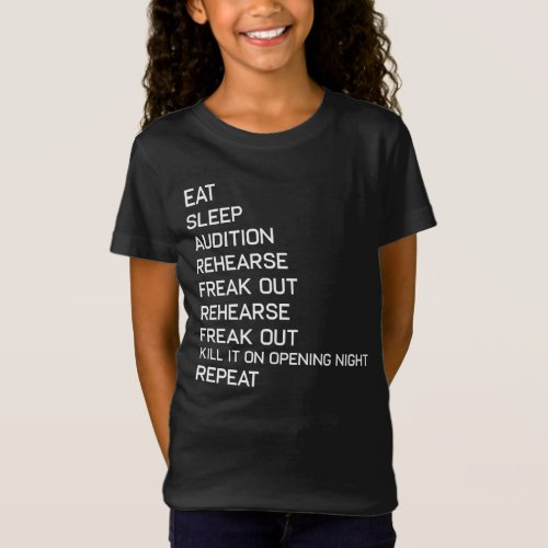 Stage Left Stage Right Funny Broadway Theater T_Shirt