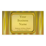 Stage Lights Double-Sided Standard Business Cards (Pack Of 100)