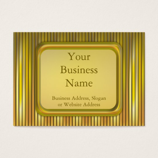 Stage Lights Business Card