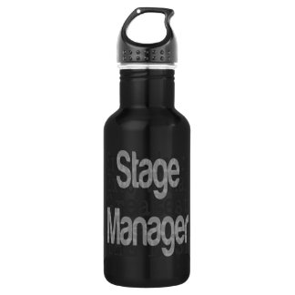 Stage Manager Extraordinaire Stainless Steel Water Bottle