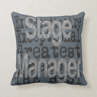 Stage Manager Extraordinaire Throw Pillow