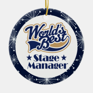 Stage Manager Gift Ornament
