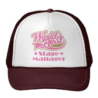 Stage Manager Gift Trucker Hat