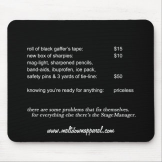 Stage Manager Mousepad (Black)