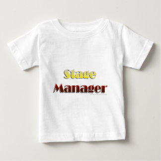 Stage Manager (Text Only) Baby T-Shirt