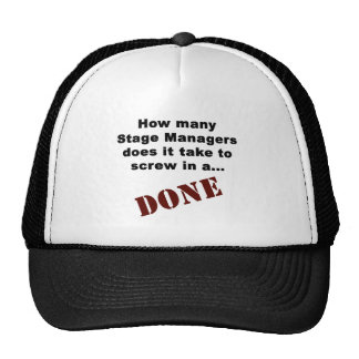 Stage Manager's Get Things DONE! Trucker Hat