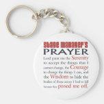 Stage Manager's Prayer Basic Round Button Keychain