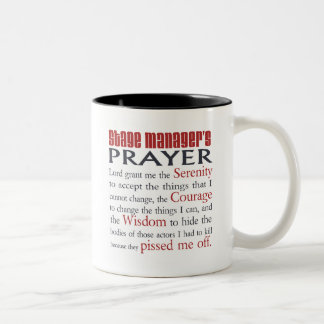 Stage Manager's Prayer Mugs