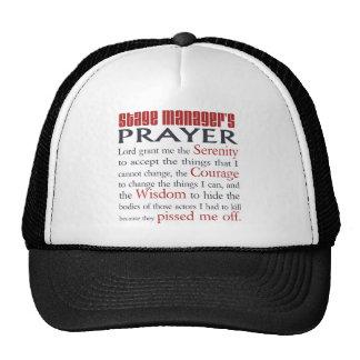 Stage Manager's Prayer Trucker Hat