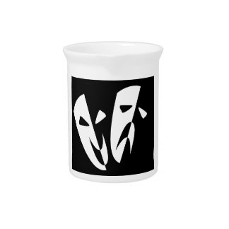 Stage Masks Beverage Pitcher